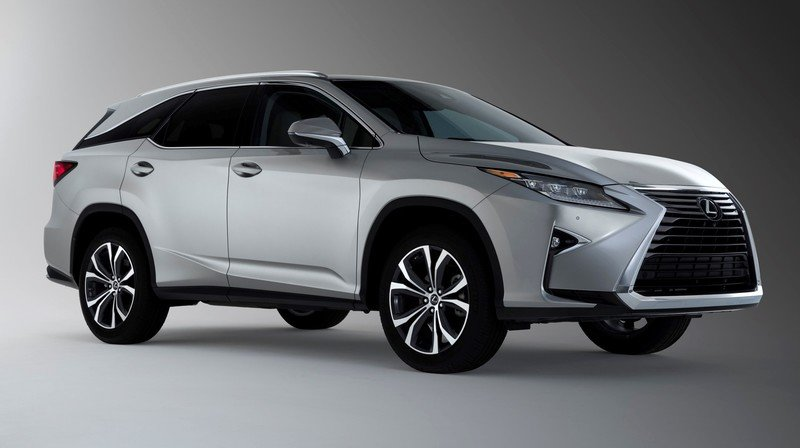 2018 Lexus RX L Offers Three Rows of Seating for 6 or 7 and Tri-Zone Climate Control