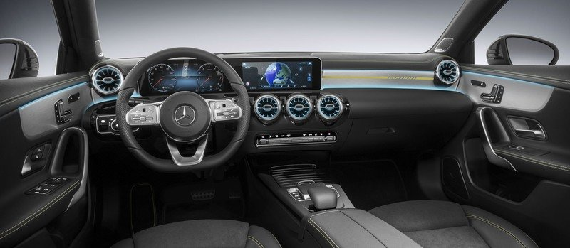 2018 Mercedes A-Class Cabin Revealed – It's a Hybrid!!!