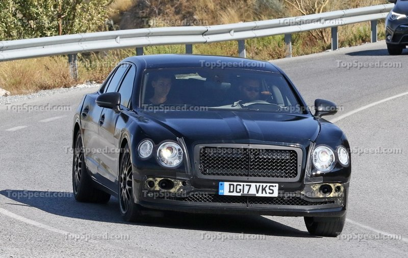 2020 Bentley Flying Spur Top Speed