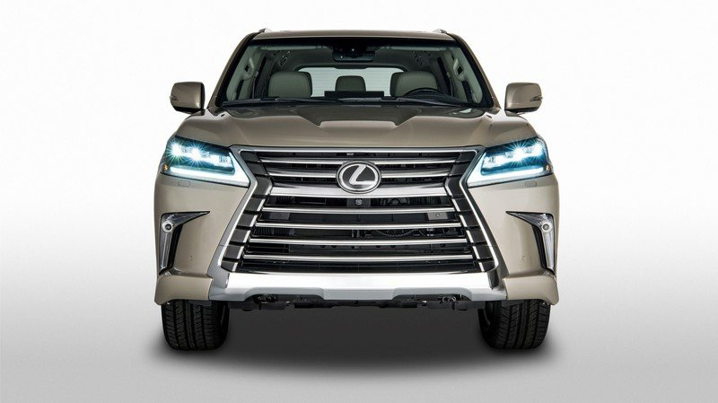 2018 Lexus LX Two-Row Only Available in One Trim; Limited Options