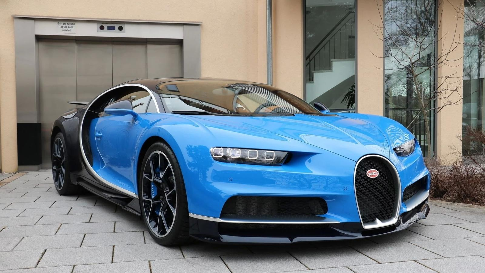 4 million will snag you a used bugatti chiron top speed