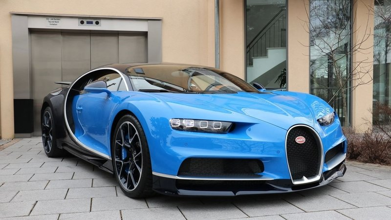 "$4 Million Will Snag You A ""Used"" Bugatti Chiron"