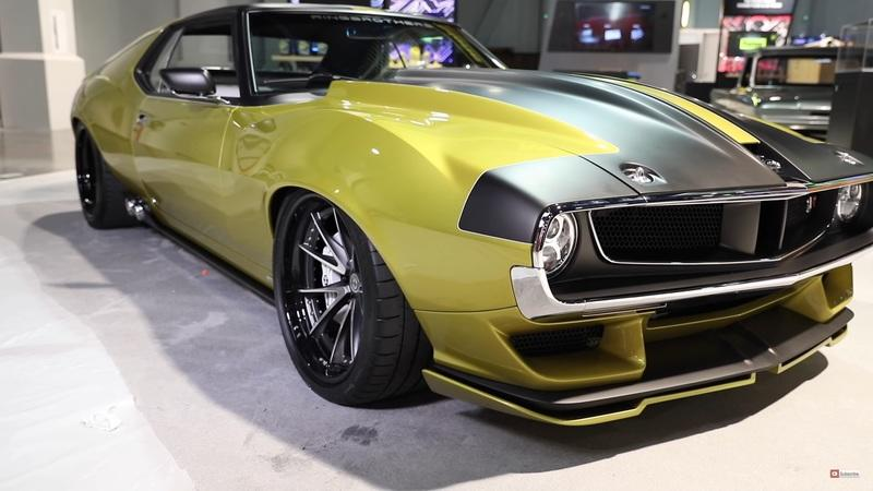 2017 AMC Javelin AMX Defiant! By Ringbrothers