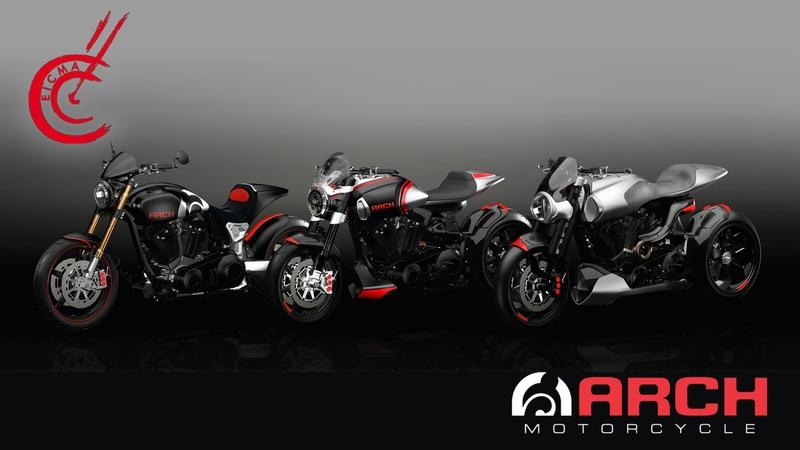 Arch Motorcycle Goes Big Time At 2017 EICMA