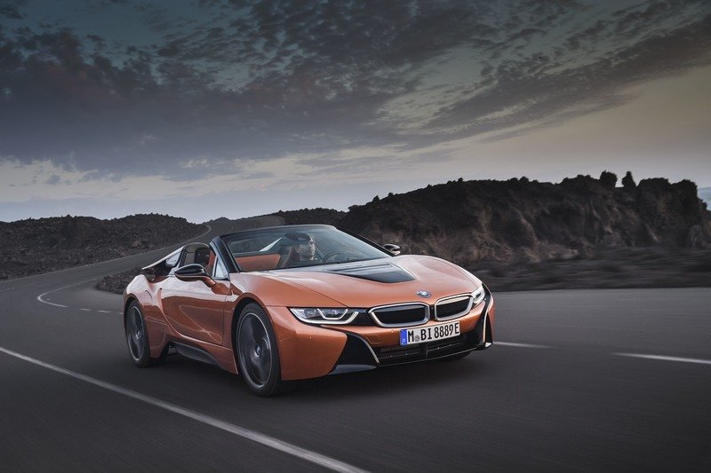 2019 Bmw I8 Roadster Top Speed