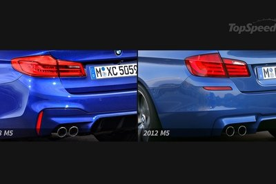 BMW M5: Old vs. New - image 741999