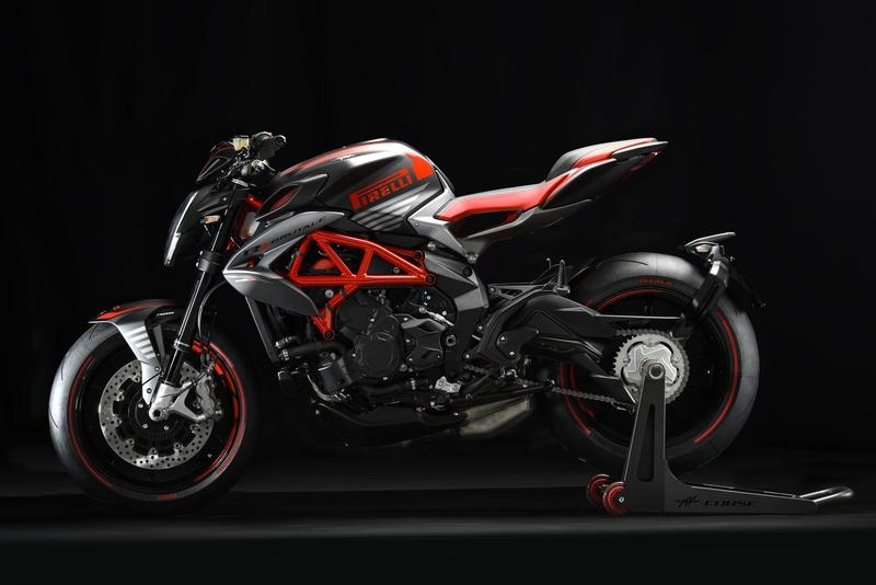 MV Agusta is making a limited run Brutale 800 RR PIRELLI