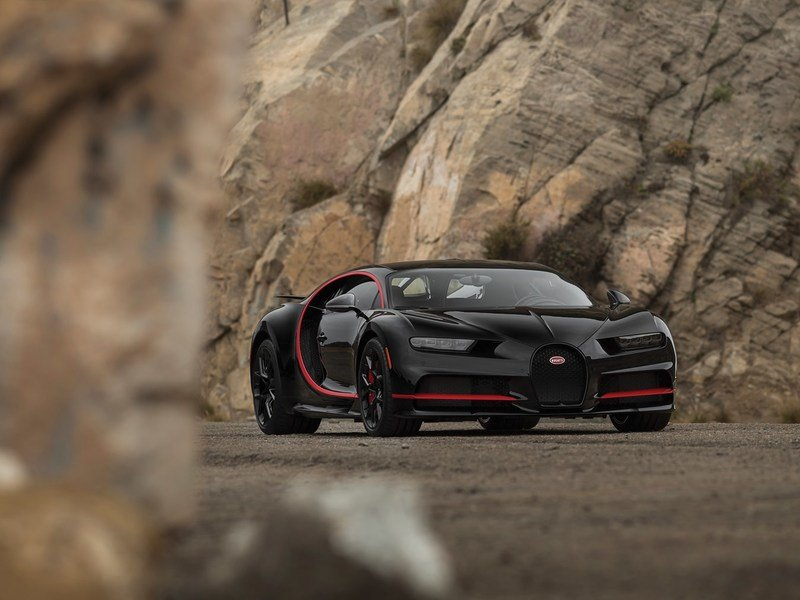 """2018 Bugatti Chiron """"Number One"""" Edition   Top Speed"""