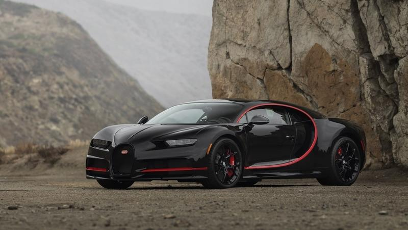 "2018 Bugatti Chiron ""Number One"" Edition"