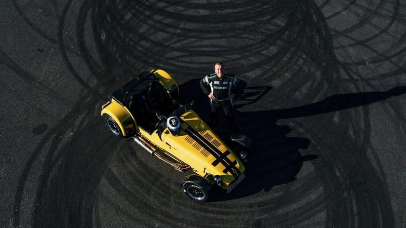 Caterham Seven 620R Binges On Donuts On Its Way To New Record