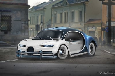 Click Mechanic Renders 7 Utterly Bizarre Car Mashups - image 743947