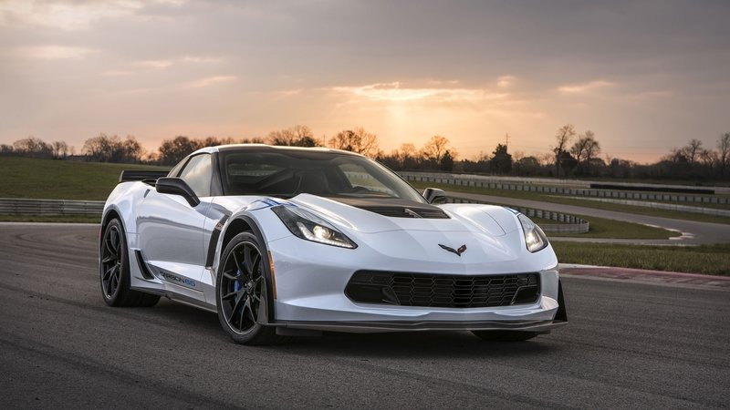 First-Production Chevrolet Corvette Carbon 65 Will Be Auctioned Off For Veterans