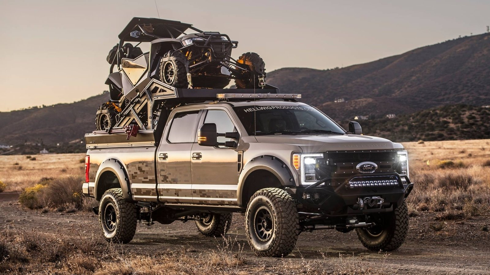 """Ford F150 Super Cab 2017 >> 2017 Ford F-350 """"The Operator"""" By Hellwig 