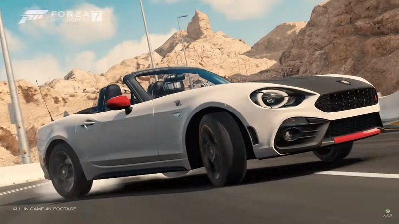 Forza 7's New Car Pack Opens The Gate To The World Of 4K