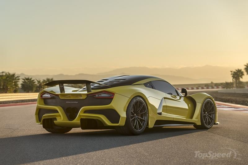 The Hennessey Venom F5 Just Bested the Bugatti Chiron In an Unexpected Way