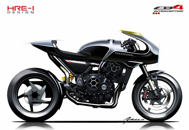 If the new CB1000R is the present, this CB4 'Interceptor' is Honda's future