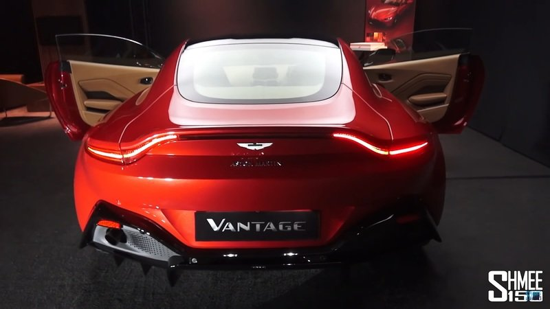 Take a First Look at the Aston Martin Vantage