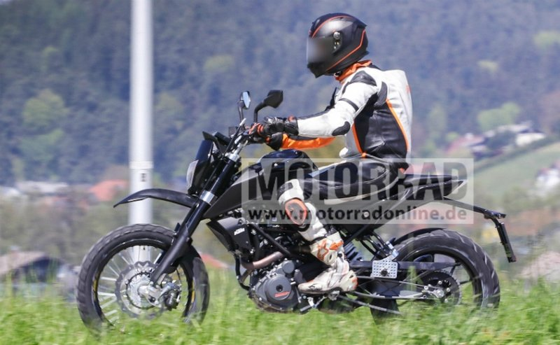 Is KTM developing more products with its 390 platform?