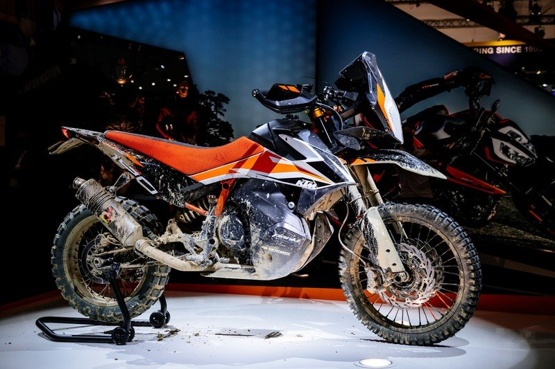 KTM's 790 Adventure gets spied testing