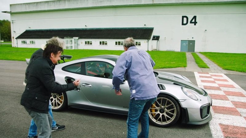 Mark Webber's The Grand Tour Audition Is A Barrel Full Of Laughs