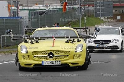 What in the World is Mercedes doing with this SLS AMG Electric Drive? Is an Electric AMG GT in the Works? - image 742277