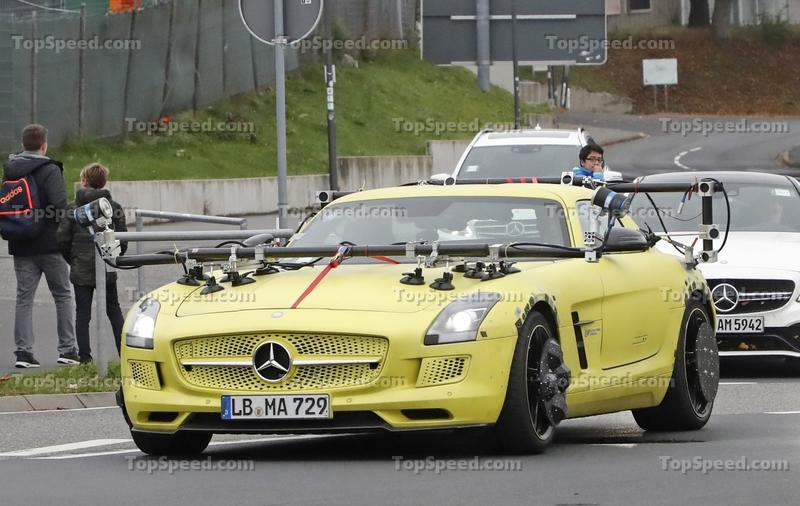 Will the Next Mercedes-AMG SLS Electric Drive Birth From the 2020 AMG GT?