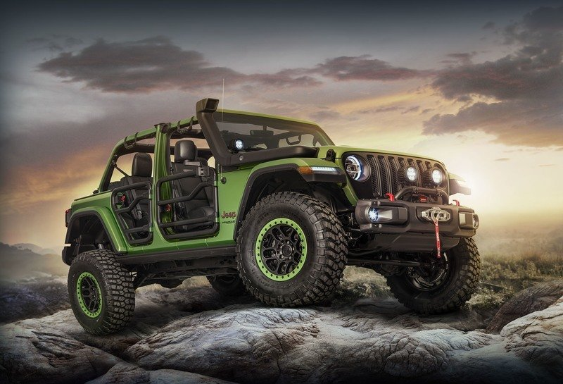 The 2018 Jeep Wrangler Gets A Mopar Makeover at L.A. Auto Show