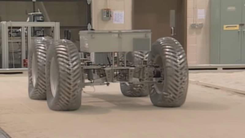 NASA Finally has Tires Suitable for the Moon, Mars, and Beyond!