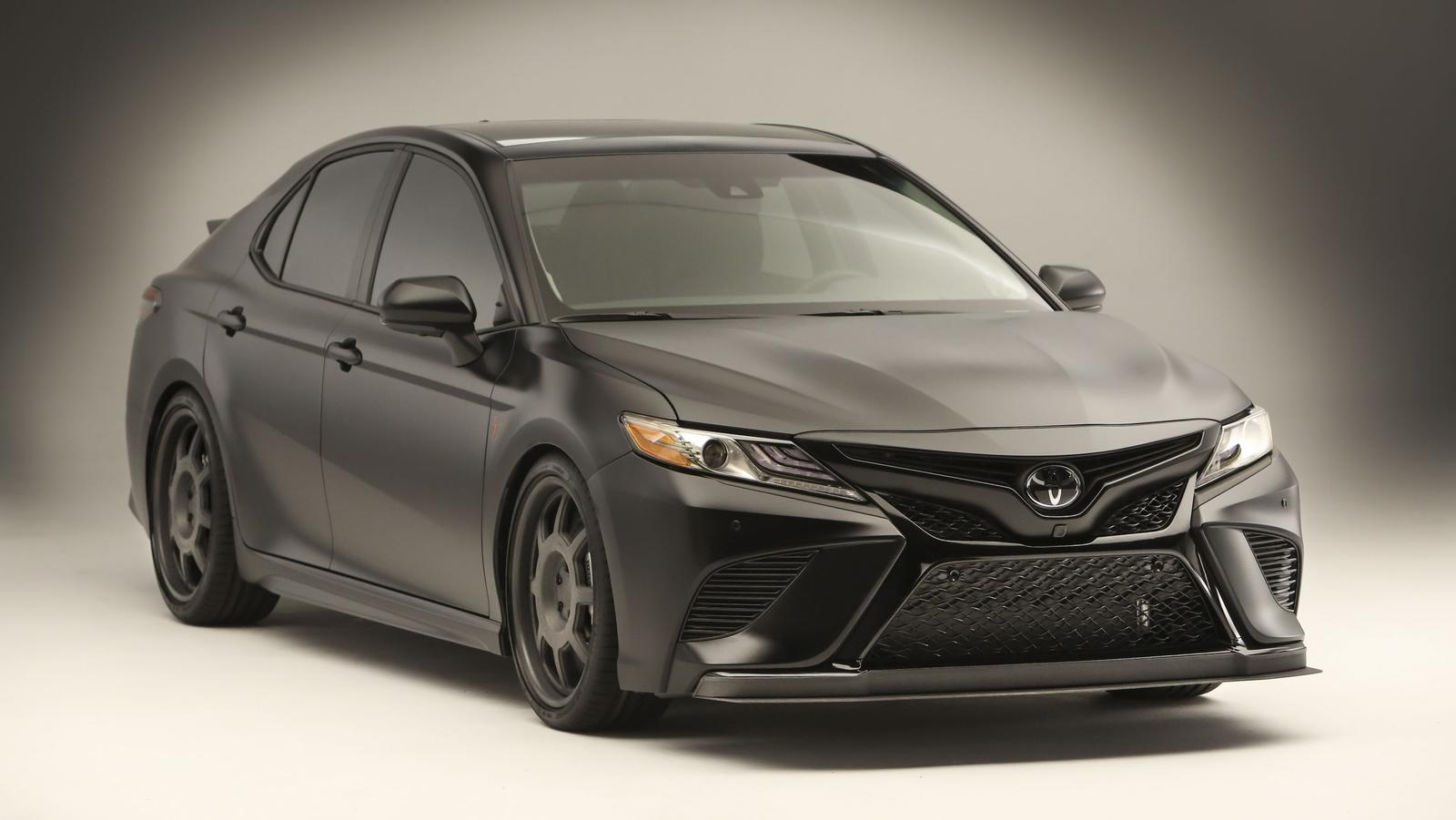Nascar Champ Truex Jr Designs All Black Toyota Camry For