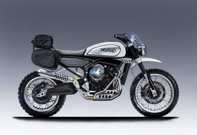 Norton is working on a 650cc