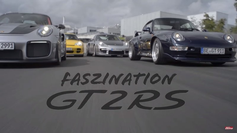 Porsche 911 GT2 Tests Top Speed On The Autobahn: Video