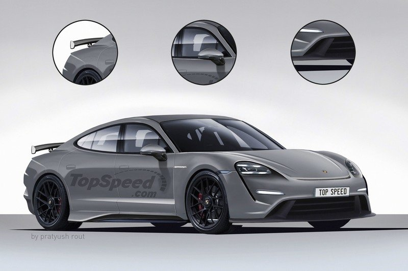 2021 Porsche Taycan GTS Exterior Exclusive Renderings Computer Renderings and Photoshop - image 743227