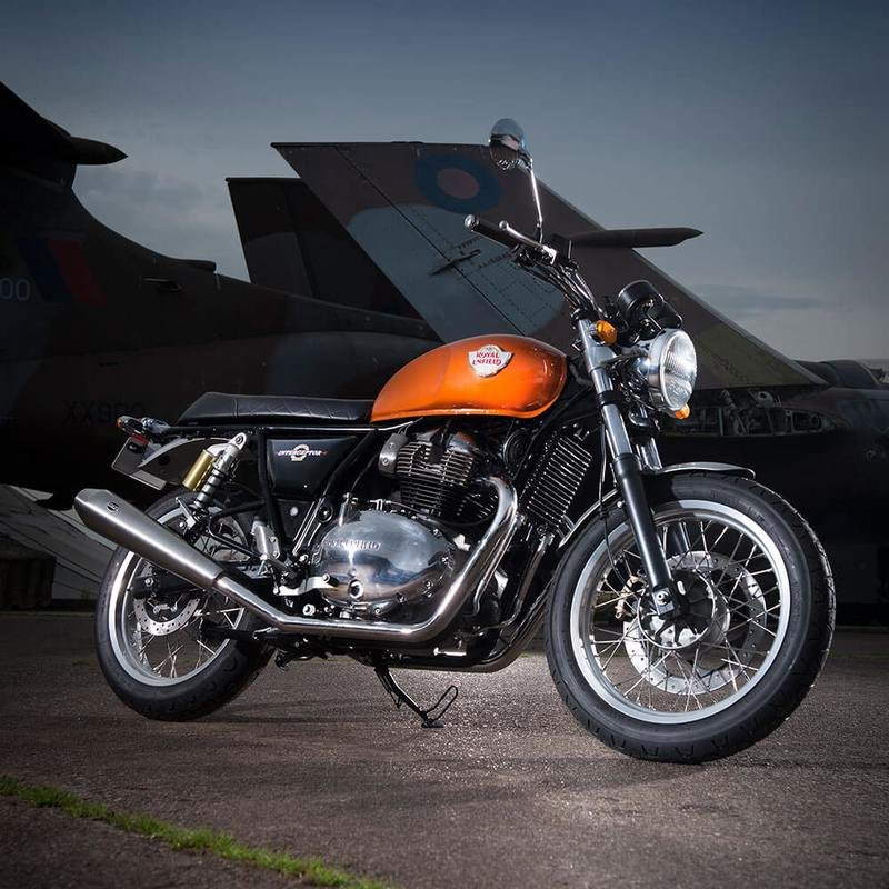 Royal Enfield's new Continental GT 650 and Interceptor have twice the number of cylinders than usual Exterior - image 744205