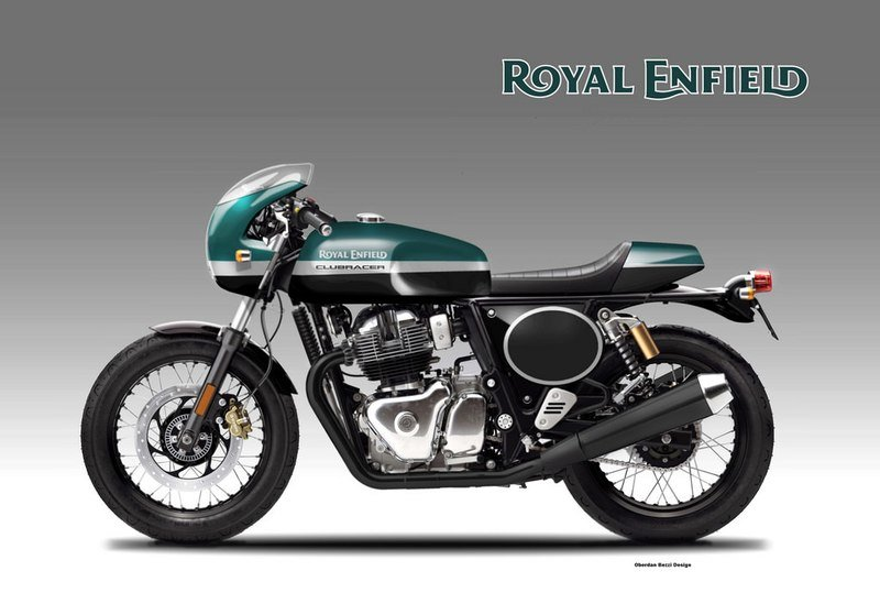 The Royal Enfield 650 gets a ClubRacer rendering Computer Renderings and Photoshop - image 746998