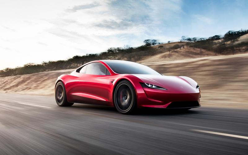 Tesla Makes Surprise Debut Of Next-Gen Roadster