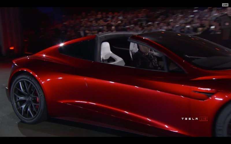 Thanks to Tesla's Autonomy Day, We Get to See the Real Interior of the 2020 Tesla Roadster, Including the Rear Seats
