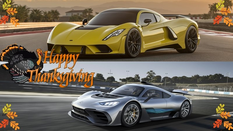 Thanksgiving Day Special – 7 Cars We're Thankful For