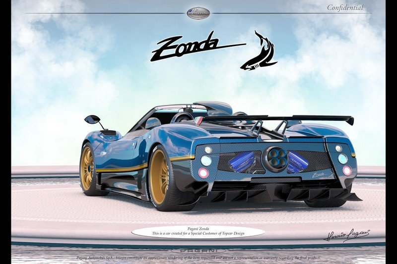 The Gift That Keeps On Giving: A New One-Off Pagani Zonda Is On The Horizon