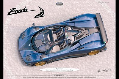 The Gift That Keeps On Giving: A New One-Off Pagani Zonda Is On The Horizon - image 743489