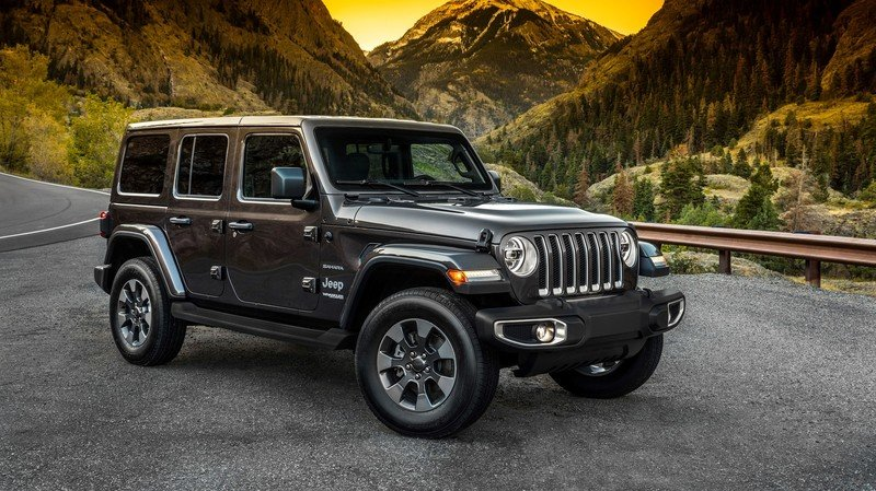 The Jeep Wrangler JL to go Hybrid in 2020
