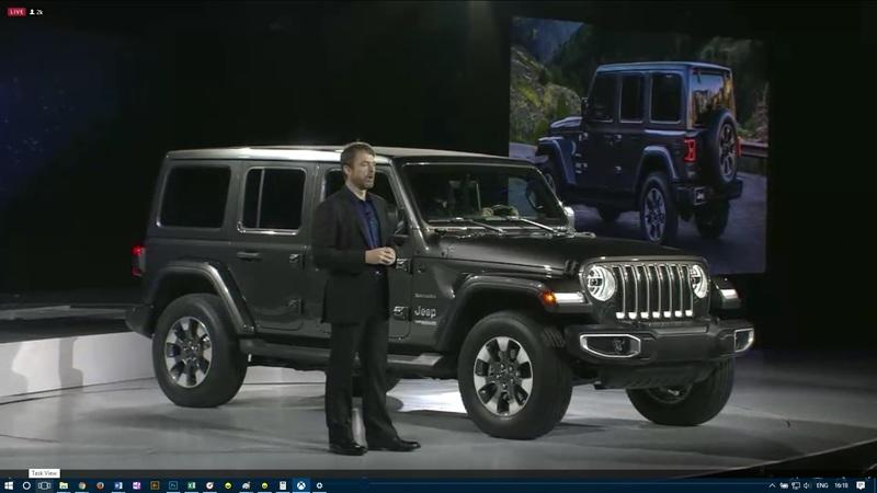 The New Jeep Wrangler JL Has Made its L.A. Debut!!!!