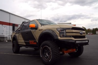 This Ford F-150 By CJ Pony Parts Is the Ultimate Rock Climber - image 742565