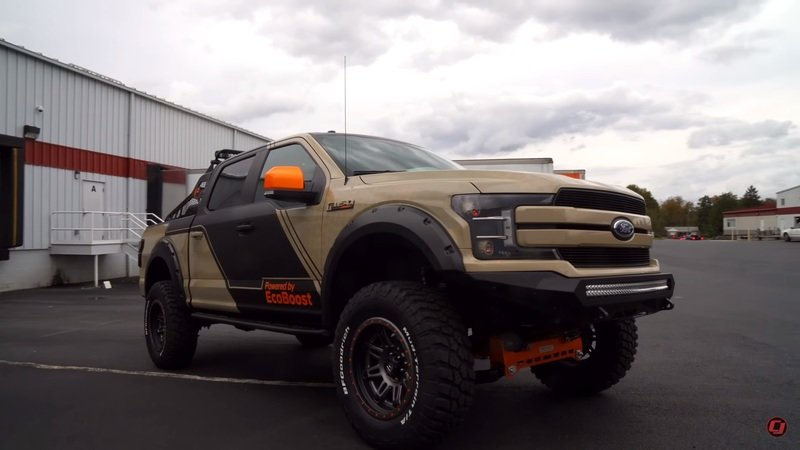This Ford F-150 By CJ Pony Parts Is The Ultimate Rock