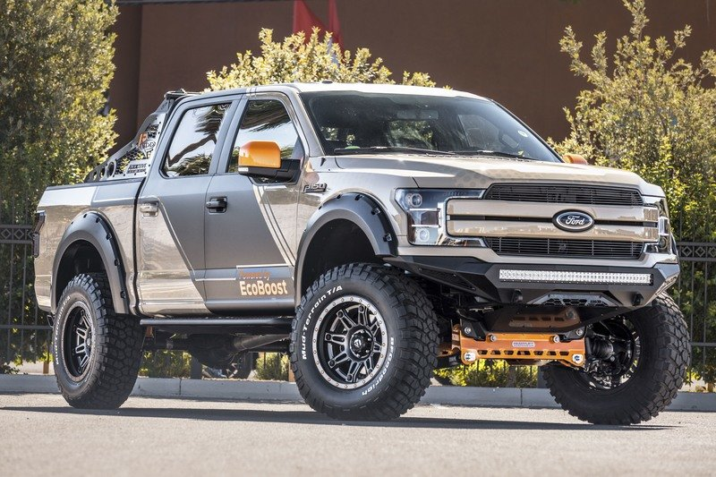 This Ford F-150 By CJ Pony Parts Is the Ultimate Rock Climber