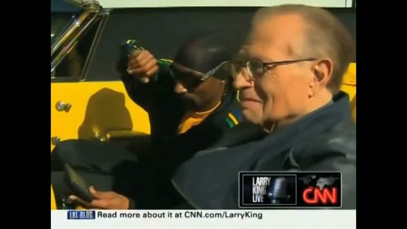 Throwback Video: Larry King Rolls With Snoop Dogg In Custom 1967 Pontiac Parisienne