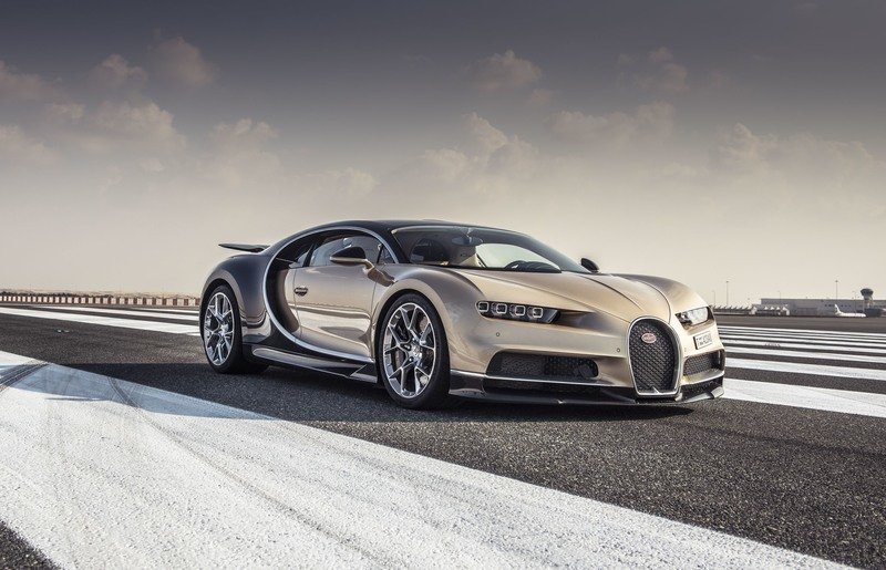 "Top Gear Magazine Names the Bugatti Chiron as the ""Hypercar of the Year"""