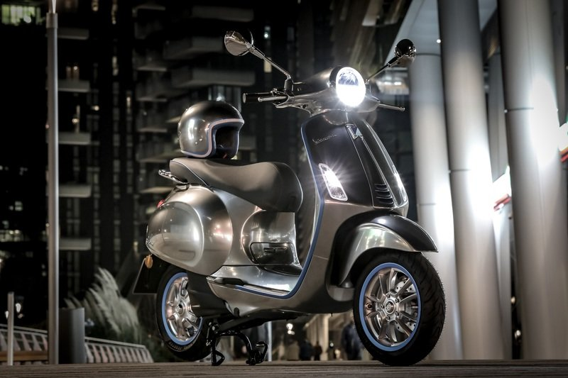 Vespa finally getting the Electtrica to production next month