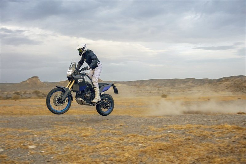 Yamaha's T7 concept is now the Ténéré 700 World Raid. But still a concept