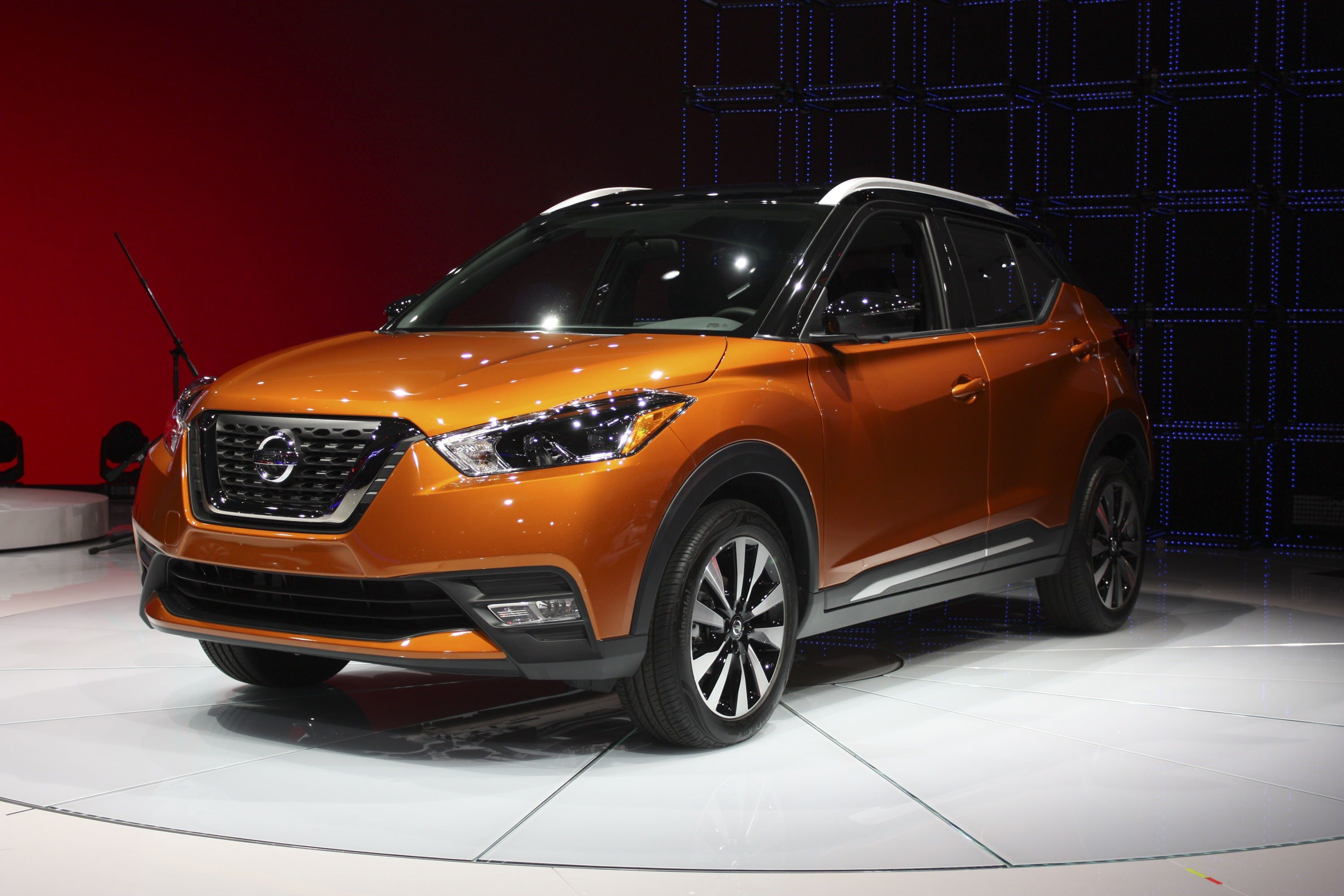 More subdued styling versus the Juke