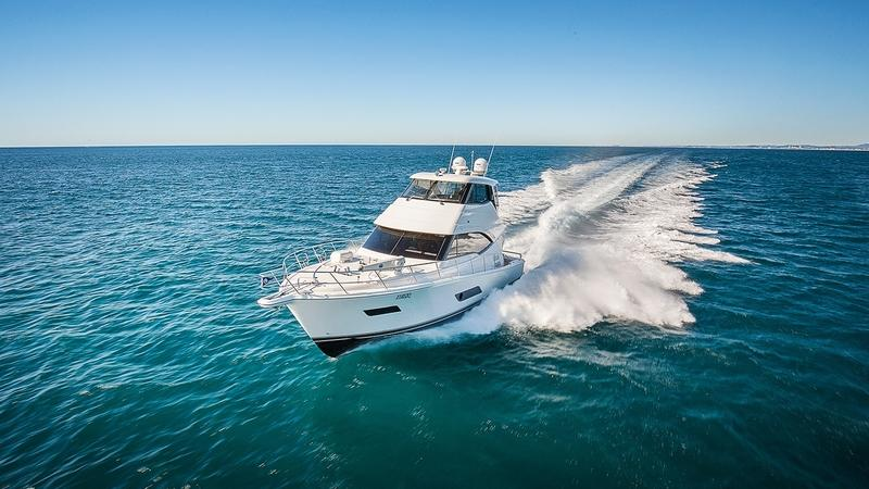 2017 Riviera 52 Enclosed Flybridge